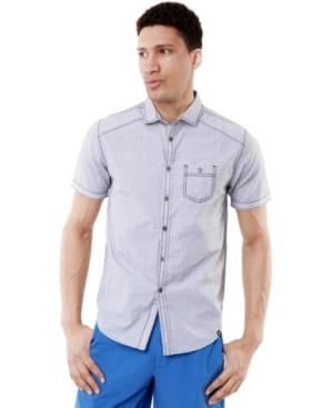 Marc Ecko Cut  Sew Shirt Short Sleeve Cloud Nine Shirt
