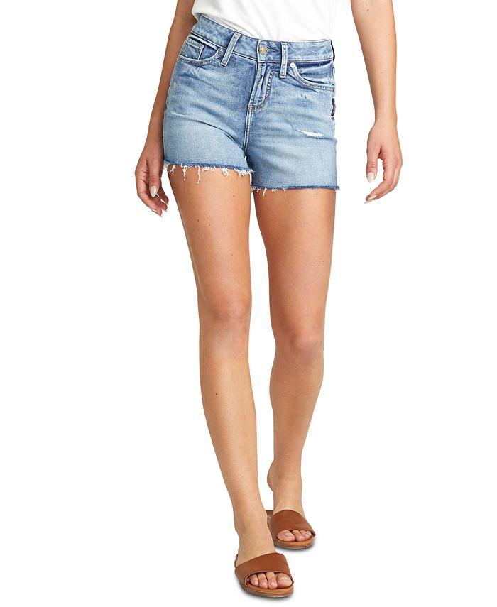 Silver Jeans Co. - Avery Denim Cutoff Shorts