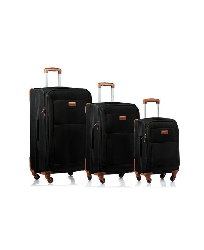 CHAMPS - 3-Pc. Classic Softside Luggage Set