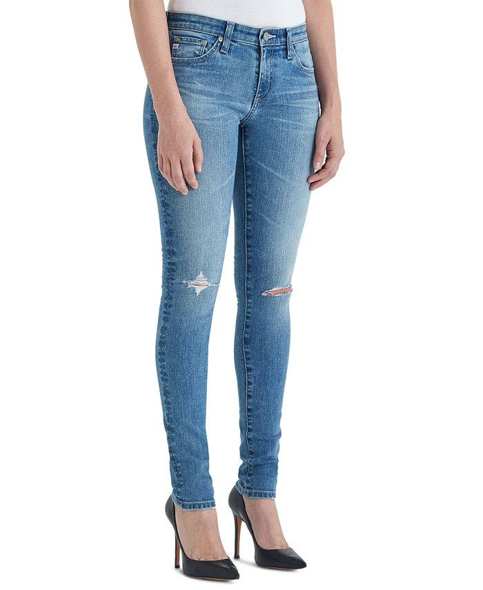 AG Jeans - Low-Rise Skinny Jeans