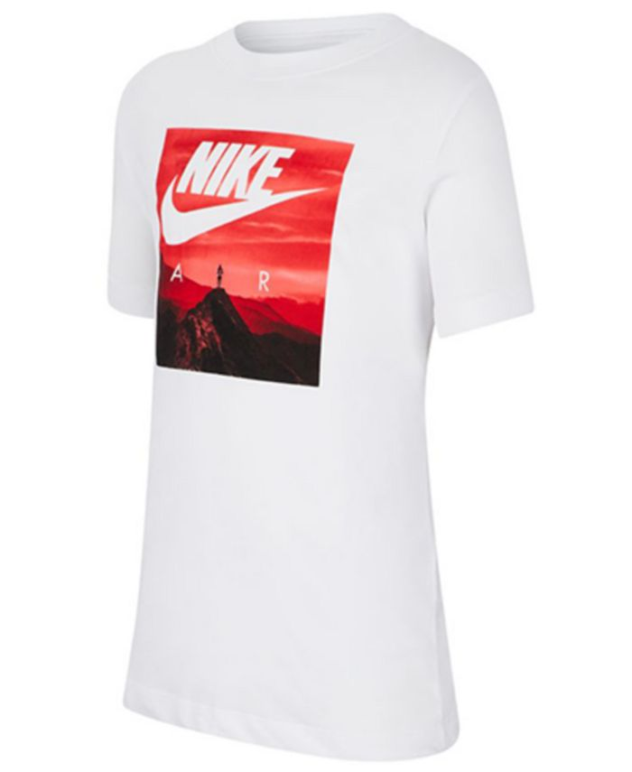 Nike - Big Boys Air Photo-Print Cotton T-Shirt