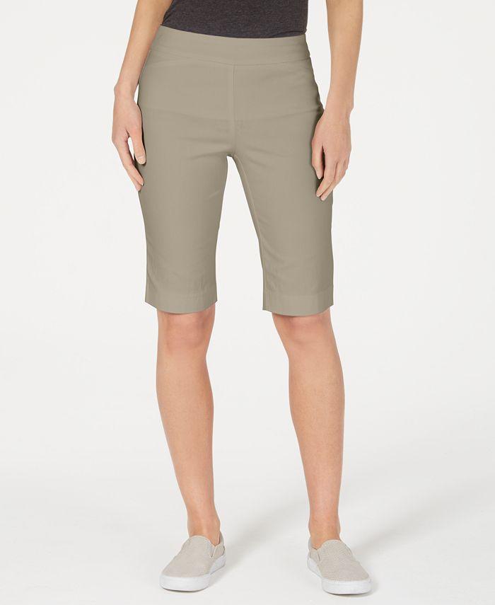 Charter Club - Pull-On Bermuda Shorts