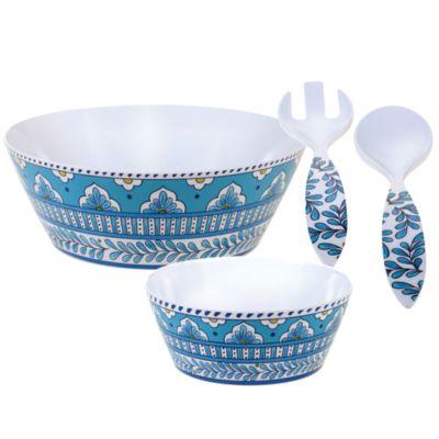 Topaz 7 pc Melamine Salad Set