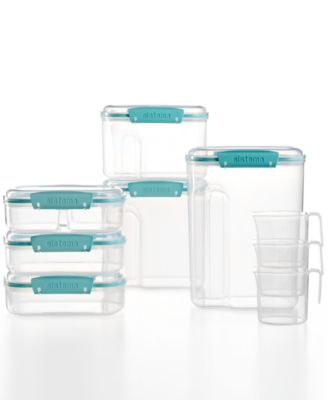 Martha Stewart Collection 15 Piece Food Storage Container Set