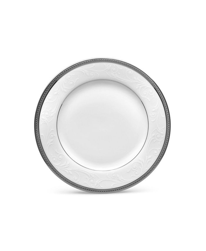 "Noritake - Regina Platinum Bread & Butter/Appetizer Plate, 6-1/4"""