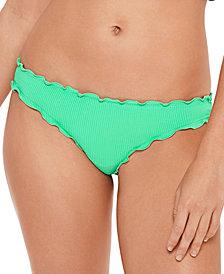 Salt + Cove Juniors' Pucker Up Ruffled Hipster Bikini Bottoms, Created for Macy's