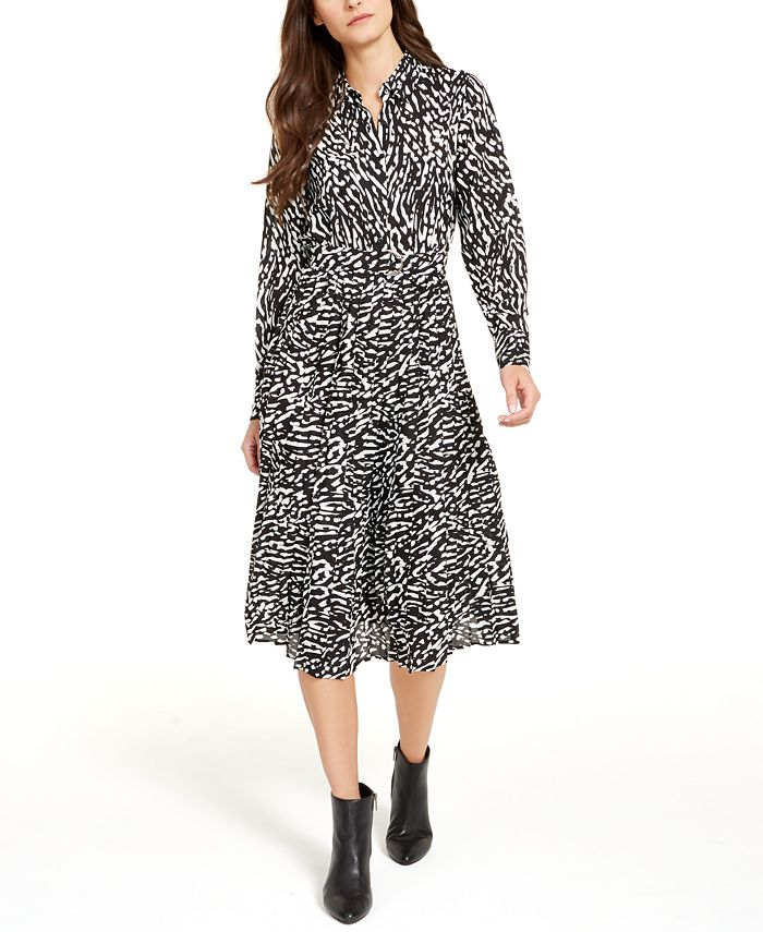 Alfani - Petite Belted Shirtdress, Created For Macy's