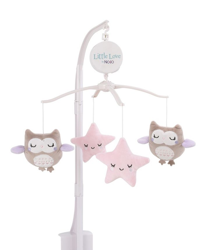 NoJo - NoJo Owls and Stars Musical Mobile