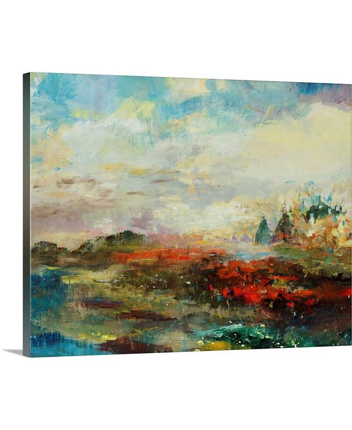 """GreatBigCanvas - 20 in. x 16 in. """"A Different Light"""" by  Jodi Maas Canvas Wall Art"""