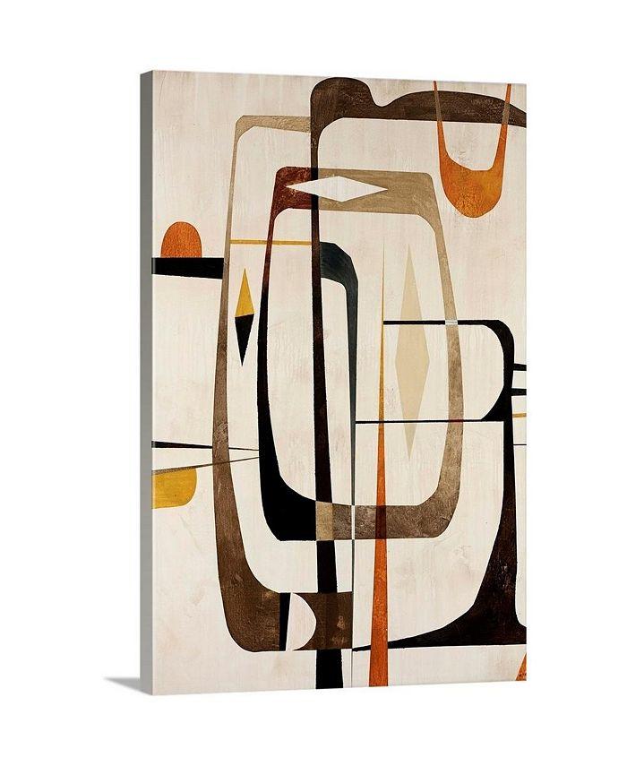 """GreatBigCanvas - 16 in. x 24 in. """"Strano Ma Vero II"""" by  Tony Wire Canvas Wall Art"""