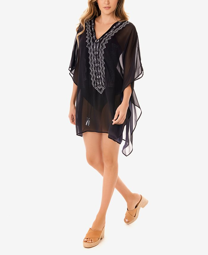 Miraclesuit - Stitch Mix Caftan Swim Cover Up