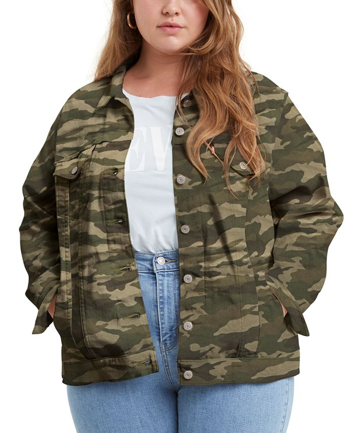 Levi's - Trendy Plus Size Ex-Boyfriend Trucker Jacket