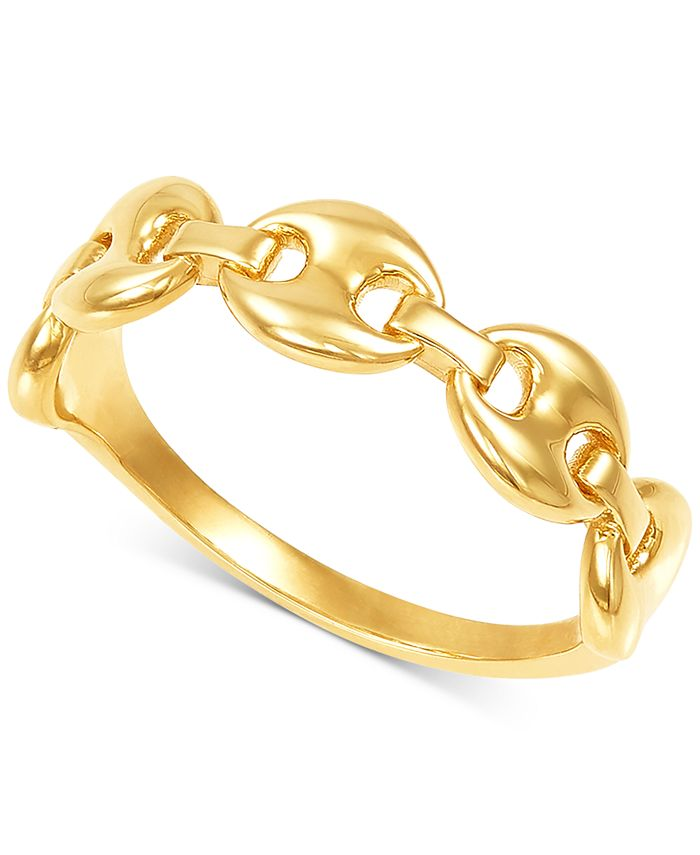 Macy's - Mariner Chain Link Statement Ring in 10k Gold