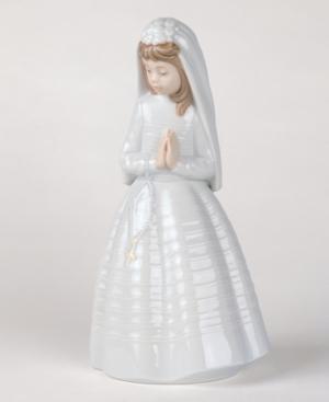 Nao by Lladro Collectible Figurine, Girl Praying