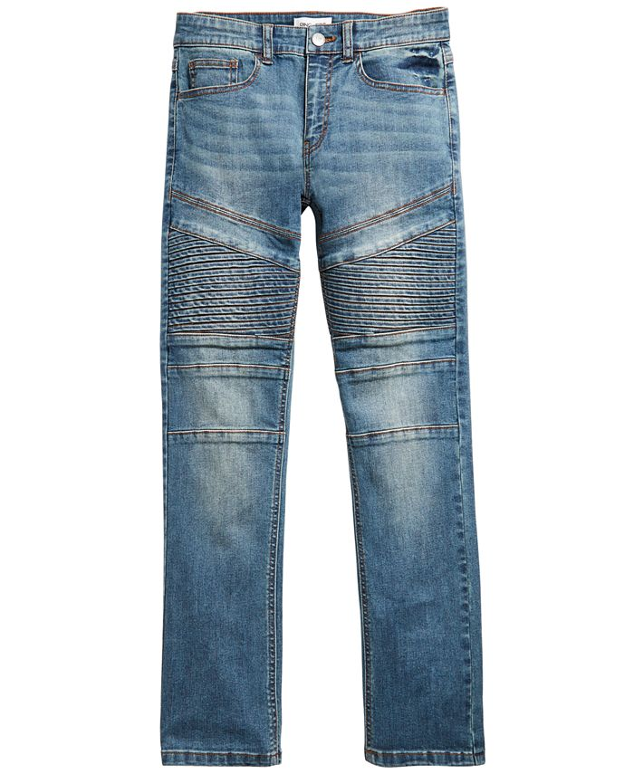 Ring of Fire - Big Boys Chase Stretch Moto Jeans