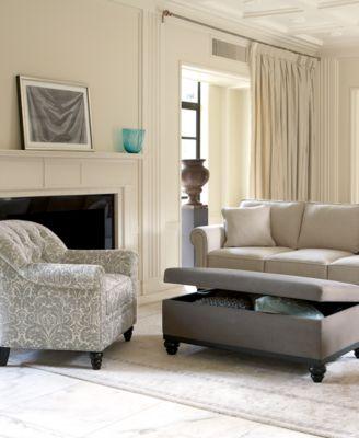 Martha Stewart Collection Club Living Room Arm Chair Furniture Macy 39 S