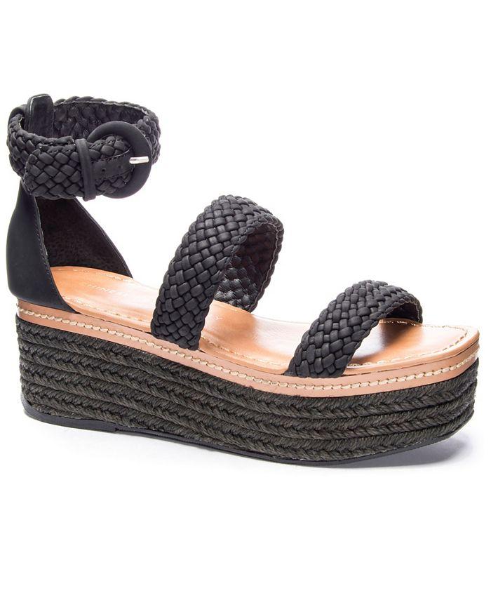Chinese Laundry - Zella Platform Wedge Sandals