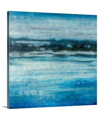 "24 in. x 24 in. ""Aquatic Life"" by  Joshua Schicker Canvas Wall Art"