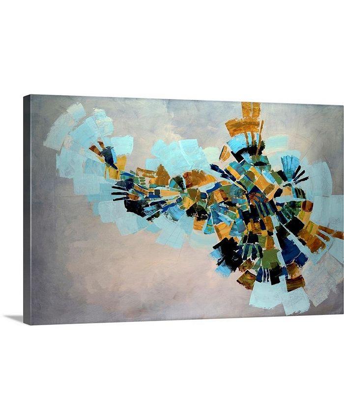 "GreatBigCanvas - 24 in. x 16 in. ""Kaleidoscope"" by  Kari Taylor Canvas Wall Art"