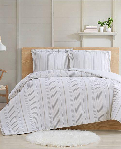 Cottage Classics Farmhouse Stripe 3 Piece King Comforter Set Reviews Comforters Fashion Bed Bath Macy S