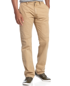 Rocawear Pants Icon Straight Fit Chino Pants
