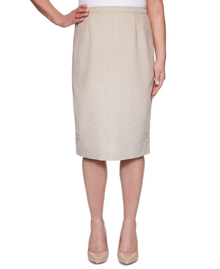 Alfred Dunner - Nantucket Knee-Length Skirt