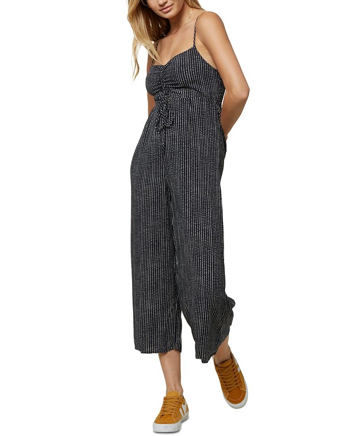 O'Neill - Juniors' Cropped Jumpsuit