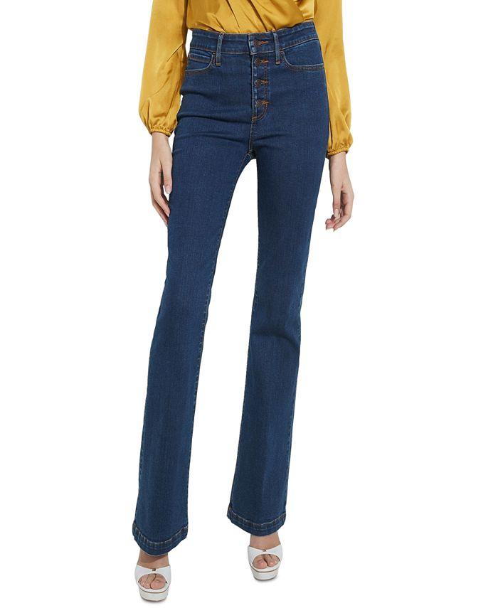 GUESS - 1981 Button-Fly Flare-Leg Jeans