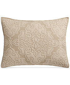 LAST ACT! Martha Stewart Collection Gilded Age Reversible Standard Sham, Created for Macy's