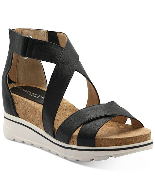 Adrienne Vittadini Chita Sandals Reviews Sandals Shoes Macy S When she was 13, her family fled győr during the 1956 hungarian revolution. adrienne vittadini chita sandals