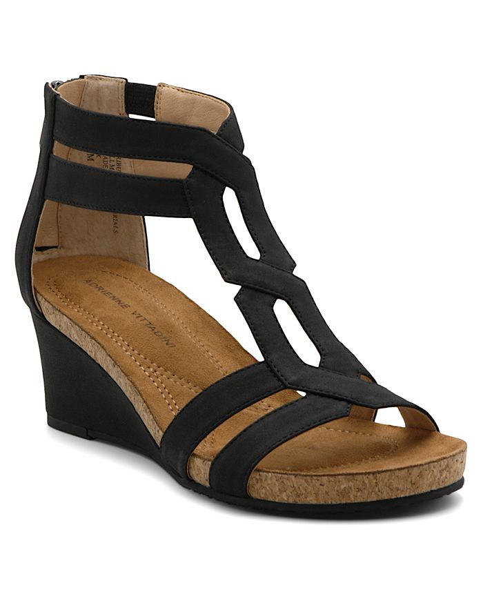 Adrienne Vittadini - Tribute Wedge Sandals