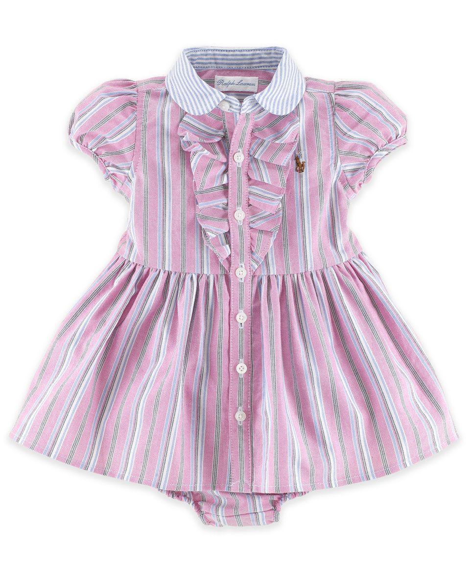 Ralph Lauren Baby Girls Dress, Baby Girls Oxford Dress   Kids