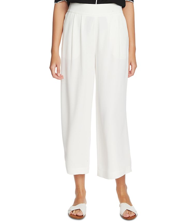 1.STATE - Trendy Plus Size Wide-Leg Crepe Pants