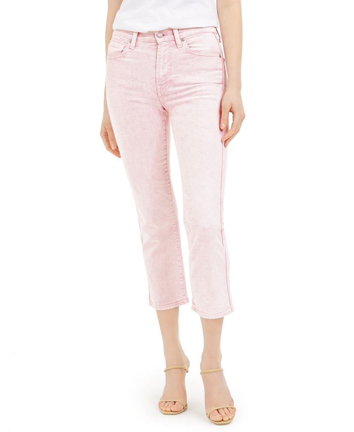 7 For All Mankind - Cropped Straight-Leg Jeans