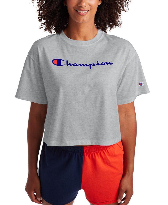 Champion - Logo Cropped T-Shirt