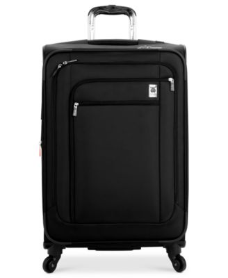 "CLOSEOUT! 60% Off Delsey Helium Sky 25"" Expandable Spinner Suitcase, In Purple, a Macy's Exclusive Color"