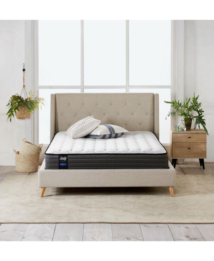 "Sealy Posturepedic Chase Pointe LTD II 11"" Cushion Firm Mattress- California King & Reviews - Mattresses - Macy's"