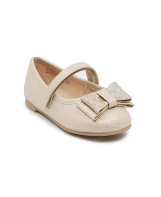 Little Girls Ballet Flat Dress Shoe