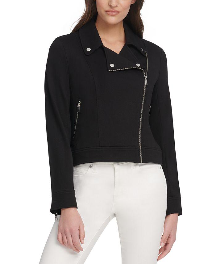 DKNY - Zip-Up Moto Jacket