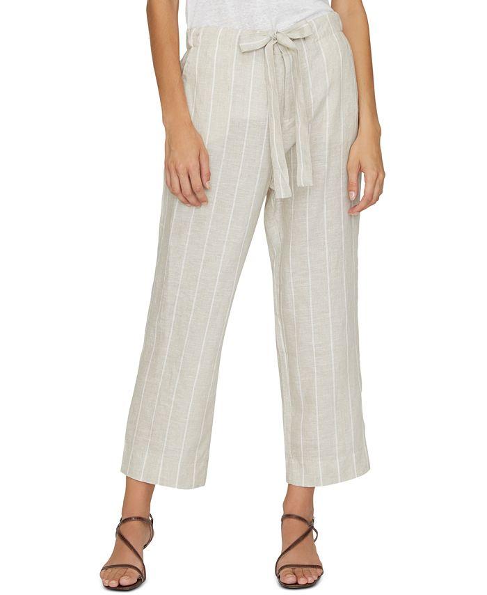Sanctuary - The Shayne Linen Tie-Front Pants