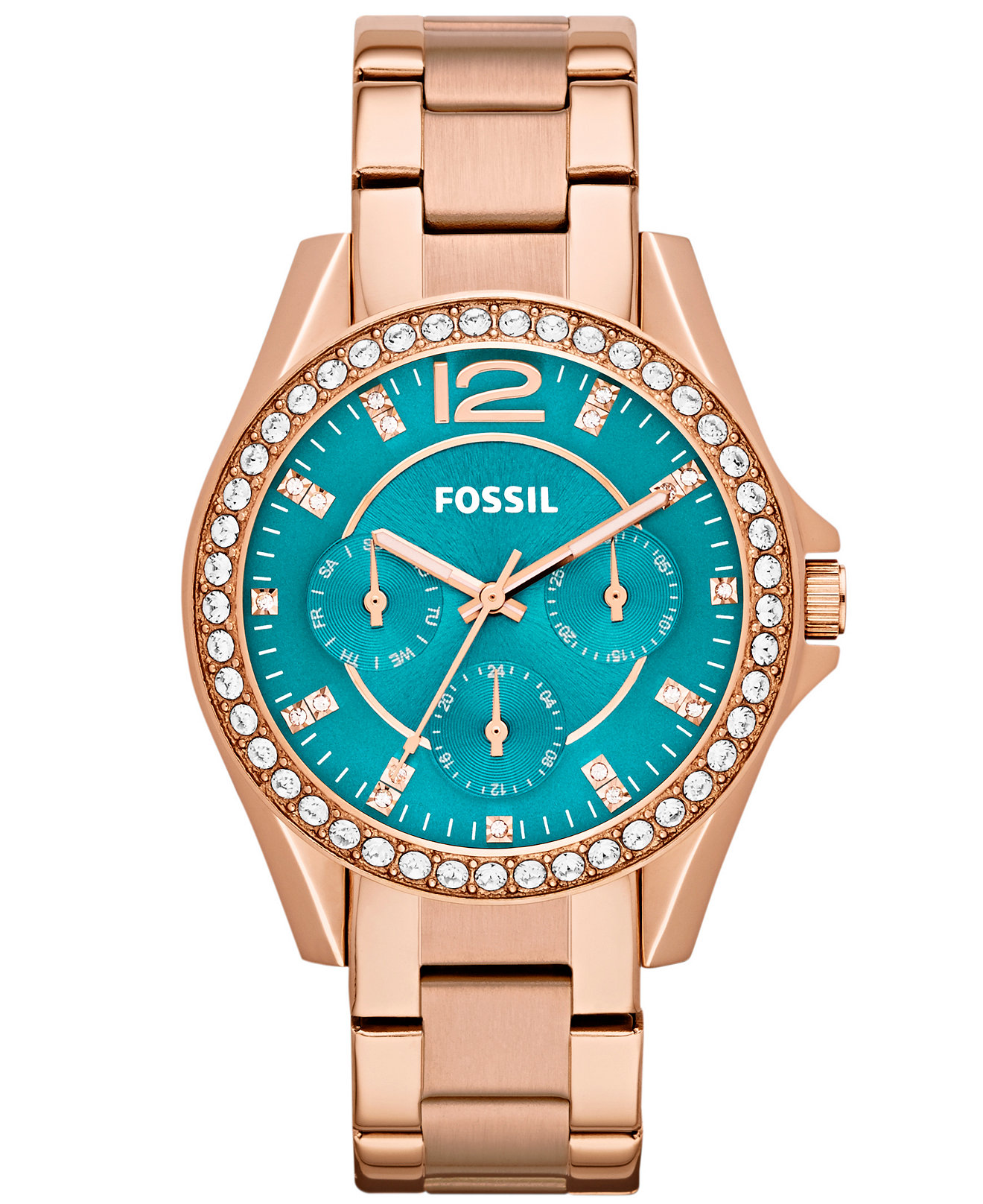 Fossil Watches For Women Rose Gold Fossil Women 39 s Riley Rose