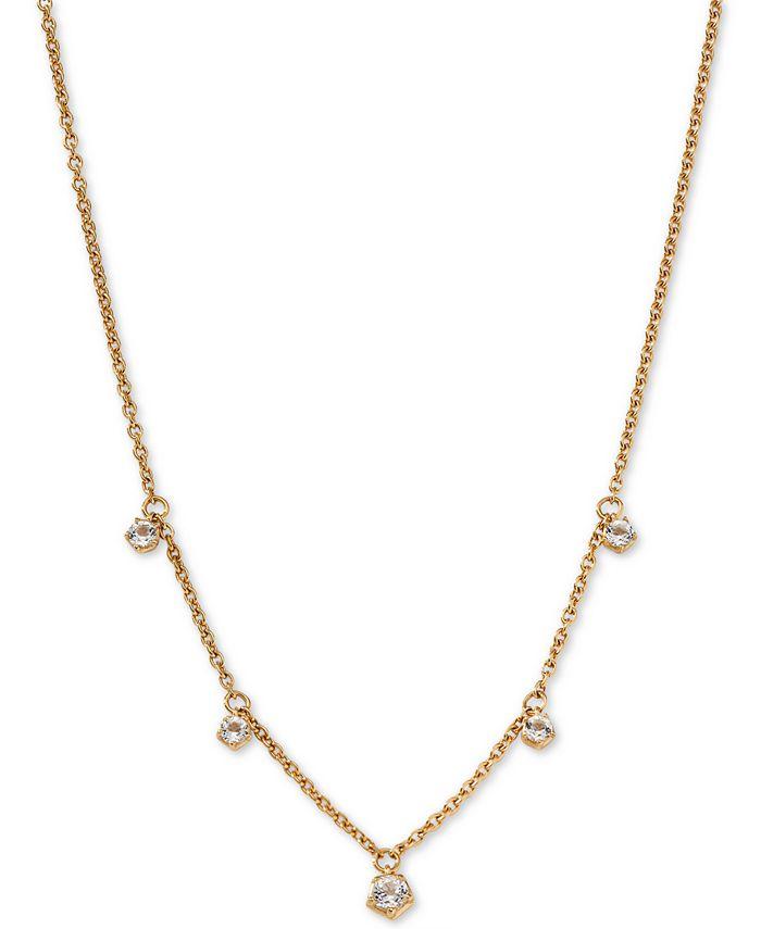 AVA NADRI - Shaky Crystal Pendant Necklace