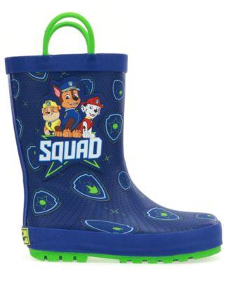 Boys Paw Patrol Squad Rain Boot