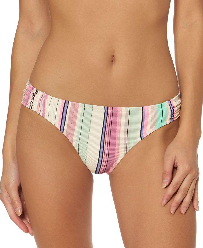 Jessica Simpson - Striped Hipster Bikini Bottoms