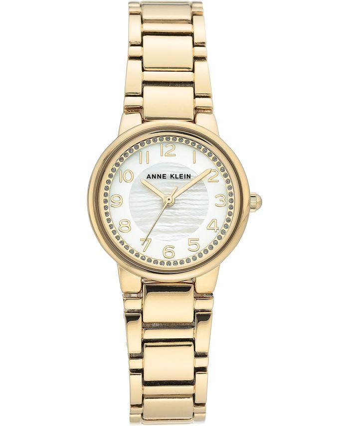 Anne Klein - Women's Gold-Tone Bracelet Watch 28mm