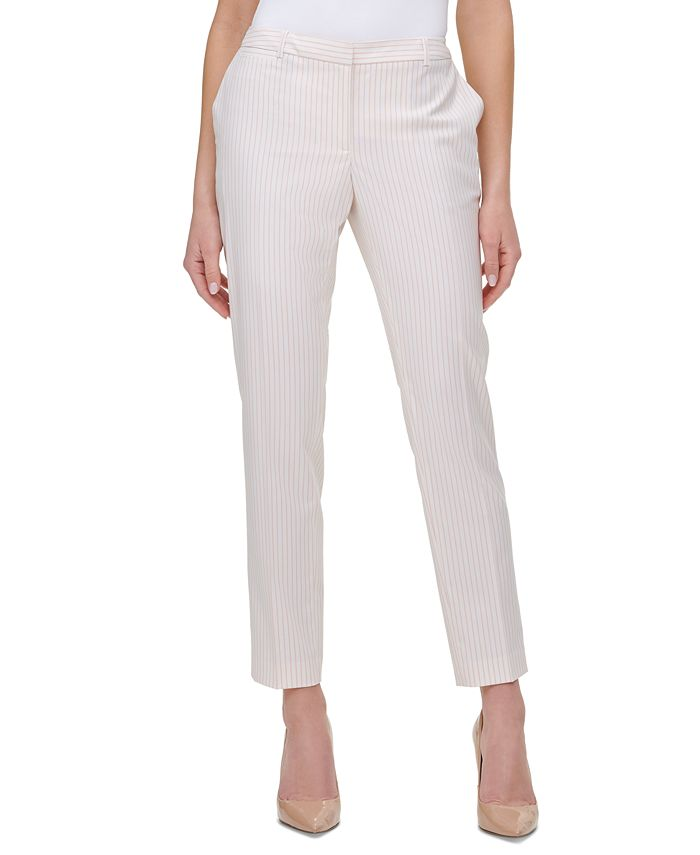 Tommy Hilfiger - Radcliff Pinstriped Ankle Pants