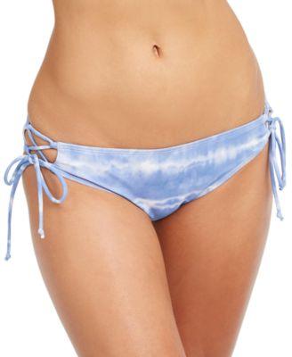 Kylie Strappy Bikini Bottom, Created for Macy's