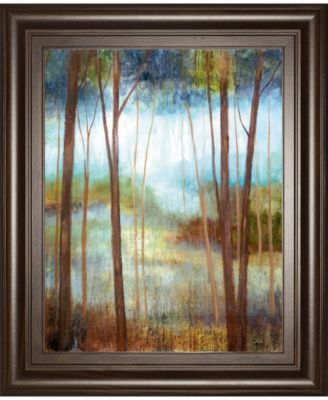 Soft Forest Il by Nan Framed Print Wall Art - 22