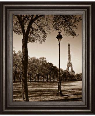 An Afternoon Stroll-Pari by Maihara J. Framed Print Wall Art, 22