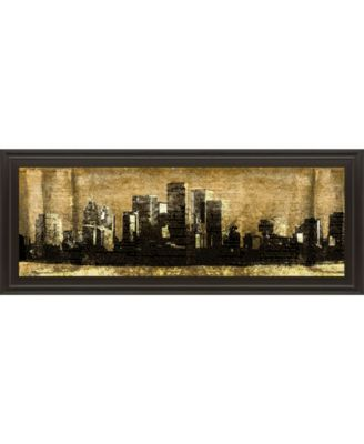 Defined City Il by SD Graphic Studio Framed Print Wall Art - 18
